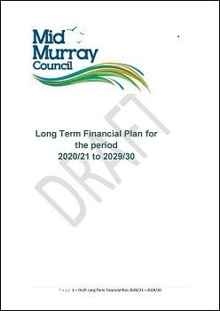 Long Term Financial Plan