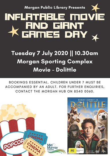 Movie and Giant Games Day